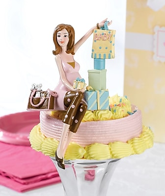 """""""""""Lillian Rose 6 1/4"""""""""""""""" Mommy To Be Caketop"""""""""""" 1173787"""