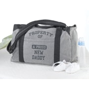 Lillian Rose™ Sweatshirt Property Of Daddy Diaper Bag