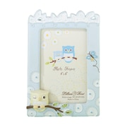 "Lillian Rose™ Baby Collection 4"" x 6"" Picture Frame, Blue Owl"