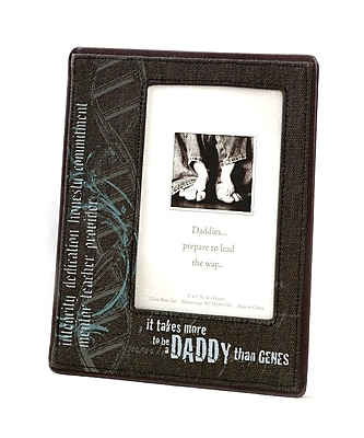 """""Lillian Rose Baby Collection 6 3/4"""""""" x 8 3/8"""""""" Genes Daddy Picture Frame"""""" 1173772"