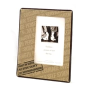 "Lillian Rose™ Baby Collection 6 3/4"" x 8 3/8"" Deployment Daddy Picture Frame"