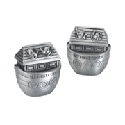 Lillian Rose™ Pair Of Noah's Ark Pewter Tooth and Curl Boxes