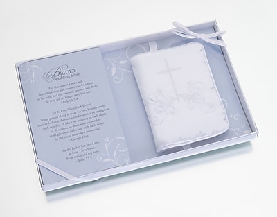 Lillian Rose™ English Wedding Bible With Cover