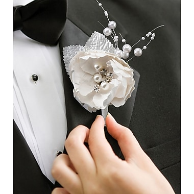 Lillian Rose™ Chic & Shabby Boutonniere
