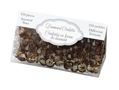 Lillian Rose™ Diamond Confetti, Brown