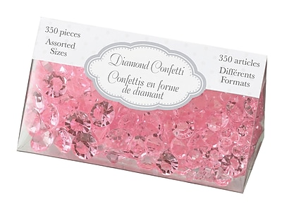 Lillian Rose™ Diamond Confetti, Pink