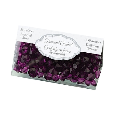 Lillian Rose™ Diamond Confetti, Purple