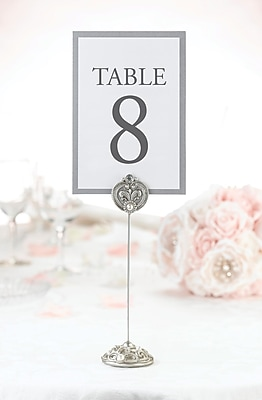 Lillian Rose™ Regal Elegance Jeweled Table Marker, 4/Set