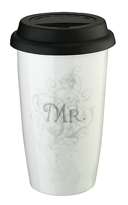 Lillian Rose™ 12 oz. Mr. Ceramic Tumbler