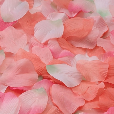 Lillian Rose™ Rose Petals, Orange/Pink