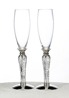 Lillian Rose Crown Toasting Glasses, 2/Set 1173495