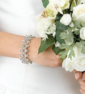 Lillian Rose™ Stretchable Rhinestone Bracelet