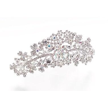 Lillian Rose™ Plated Comb Tiara, Silver