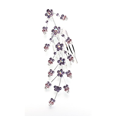 Lillian Rose™ Large Jeweled Hair Comb, Lilac