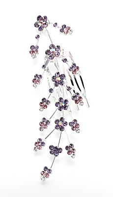 Lillian Rose™ Large Jeweled Hair Comb, Lilac