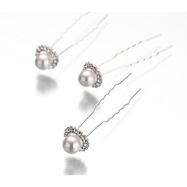 Lillian Rose™ Pearl/Rhinestone Hair Pin, 3/Set