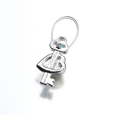 Lillian Rose™ Heart With Key Toe Ring