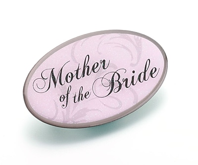 Lillian Rose™ Mother Of the Bride Oval Pin, Pink