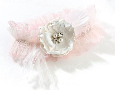 Lillian Rose™ Chic & Shabby Garter, Blush