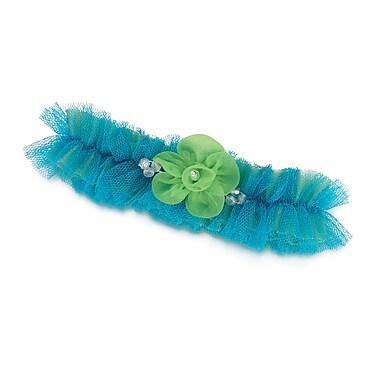 Lillian Rose™ Tulle Garter, Blue/Green