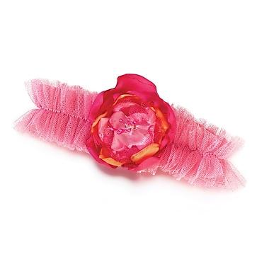 Lillian Rose™ Tulle Garter, Hot Pink/Orange
