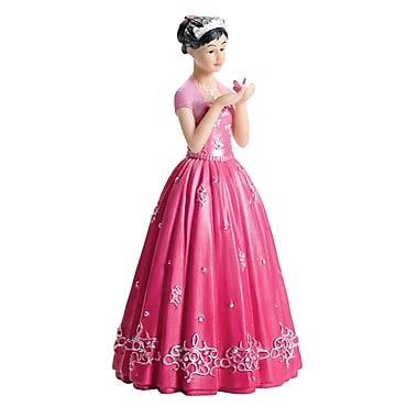Lillian Rose™ Quinceanera Figurine, Hot Pink