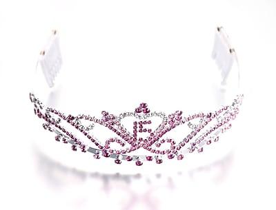Lillian Rose™ Quince Anos Tiara, Pink