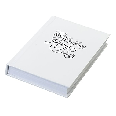 Lillian Rose™ The Wedding Ring Book Box