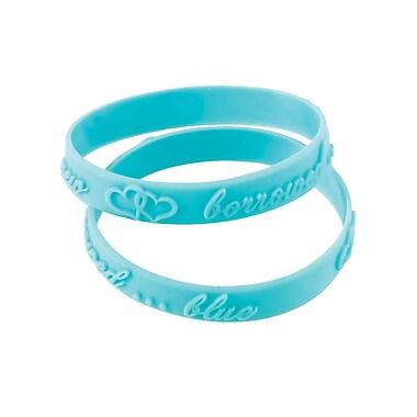 Lillian Rose™ Bridal Shower Bracelet Game Kit, Blue, 18/Set