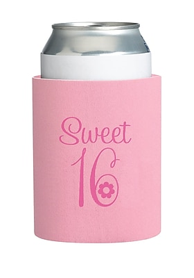 Lillian Rose™ Sweet Sixteen Cup Cozy, Pink