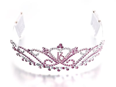 Lillian Rose™ Sweet Sixteen Tiara, Pink