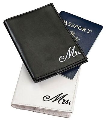 Lillian Rose™ Mr. and Mrs. Passport Covers, 2/Set