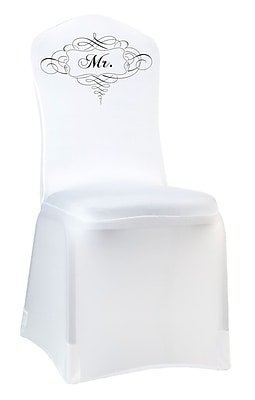 Lillian Rose™ Mr. Chair Cover, White
