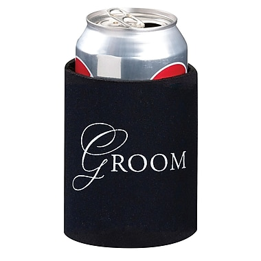 Lillian Rose™ Groom Cup Cozy, Black
