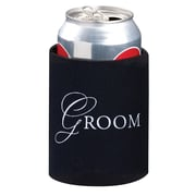 Lillian Rose™ Groom Cup Cozy, Black