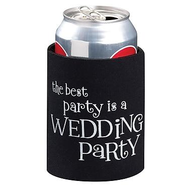 Lillian Rose™ Wedding Party Cup Cozy, Black