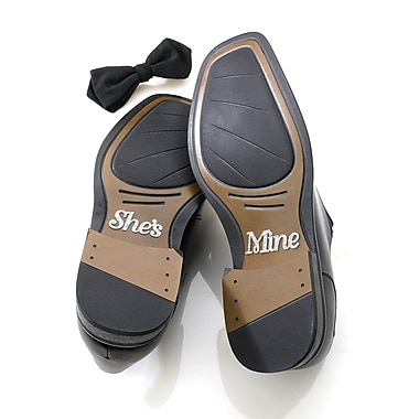 Lillian Rose™ She's Mine Shoe Sticker, Silver