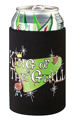 Lillian Rose King of The Grill Cup Cozy, Black 1173109
