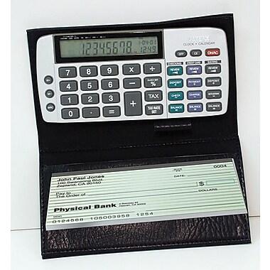 Datexx DB-413 Checkbook Calculator, Silver