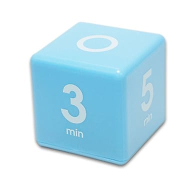 Datexx Pre-Set Cube Timer, Blue