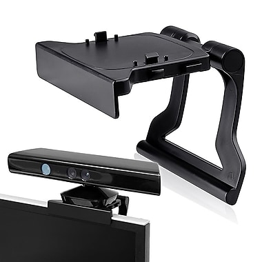 Insten gmstXboxhol1 Kinect Sensor Mount Holder For Microsoft Xbox 360/Xbox 360 Slim, Black (1309835)
