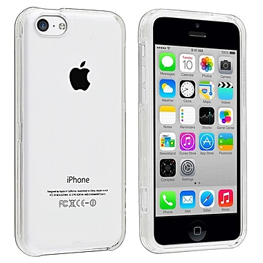 Insten Snap-In Slim Case For iPhone 5C, Clear (1304464)