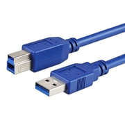 Insten® 10' Type A Male to Type B Male USB 3.0 Printer Cable, Blue