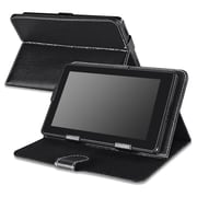 "Insten 1712246 Synthetic Leather Stand Case for 7"" Dell Venue 7,Google New Nexus 7(2013)/Nexus 7(2012 Version)Tablet,Black"