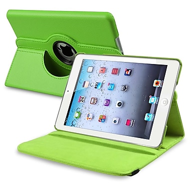 Insten® 360 Deg Swivel Stand Case For iPad Mini, Green (991090)