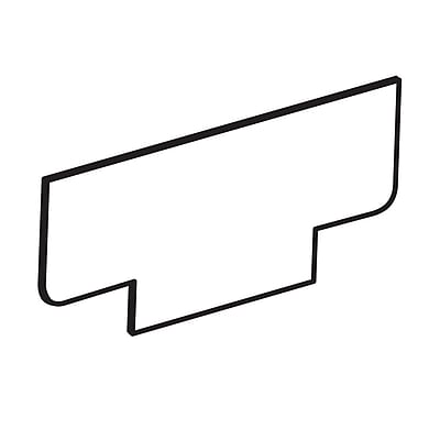 FFR Merchandising® 20 mil Price Strip, 1 1/4