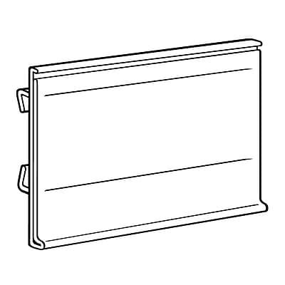 FFR Merchandising® Data Strip® Label Holder For Small Scan Plate, 1.25