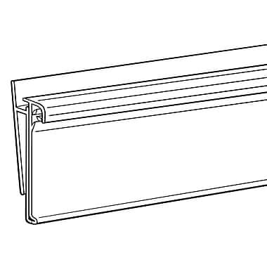 FFR Merchandising® Data Strip® SuperGrip® Label Holder For Shelf Channel, 1 1/4