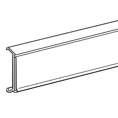 FFR Merchandising® Data Strip® Label Holder For Cooler/Freezer Shelving, 1 1/4