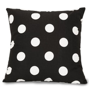 Majestic Home Goods Indoor Large Polka Dot Extra Large Pillows